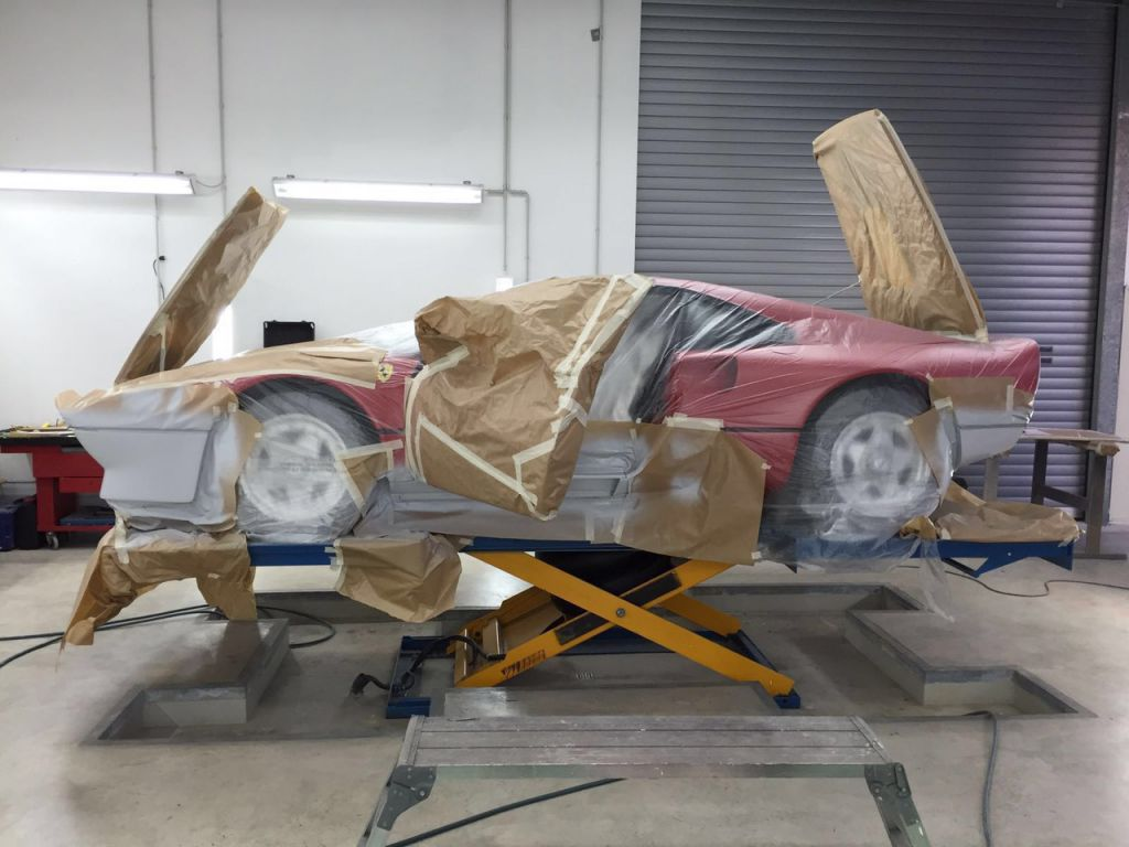 Restauration Ferrari 288 GTO