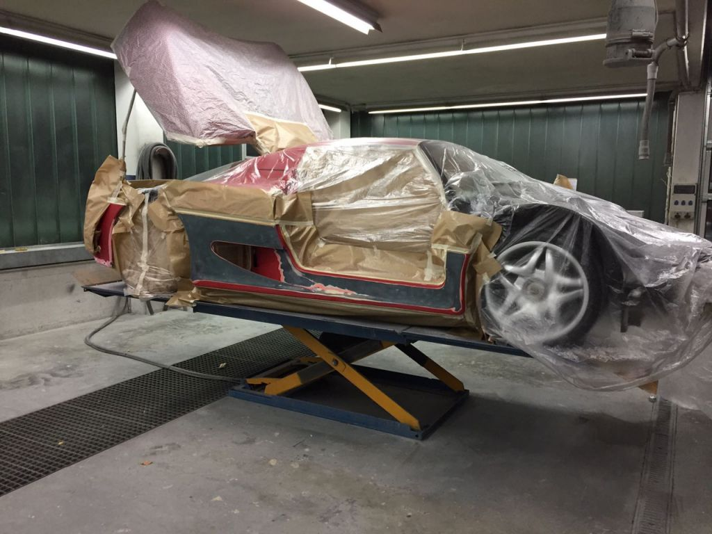 Restauration Ferrari F50